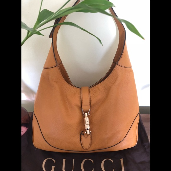 "3734dc4c8ec1 Gucci Handbags - Gucci ""Jackie O"" leather hobo bag"